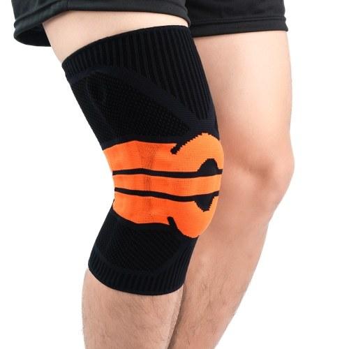 2PCS Männer Frauen Kniestütze Kniekompressionshülsen Gelenkstütze Laufen Wandern Kniescheiben Knieschützer