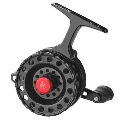 Fly Fishing Reel Wheel with High Foot Smooth Plastic Fishing Reels for Ice Fishing Flies Raft Fishing