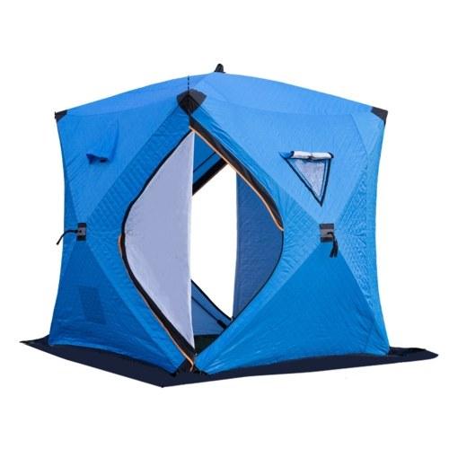 Portable Ice Fishing Shelter Easy Set-up Winter Fishing Tent Ice Fishing Tent  Waterproof &  Windproof