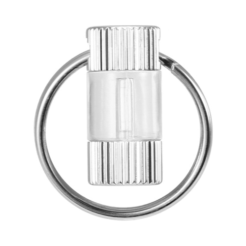Tritium Self Luminous Key Ring Ultralight Outdoor Glow In The Dark Keychain Ring Emergency Survival Mini Light