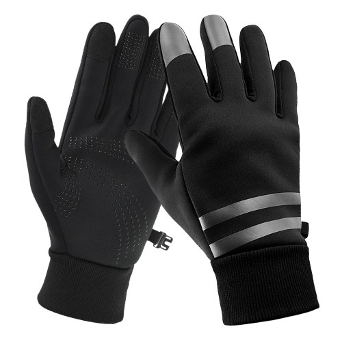 Water Repllent Sports Gloves Men Women Touchscreen Winter Gloves Warm Gloves for Cycling Motorcycling Camping Walking