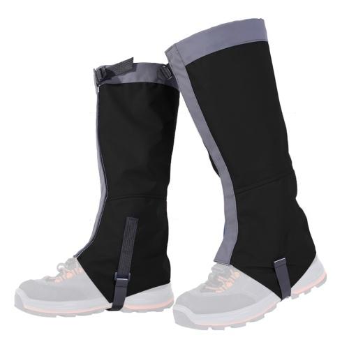 1 Paar wasserdichte Beingamaschen Frauen Männer Boot Legging Gamasche Abdeckung Beinschutz für Skifahren Wandern Klettern
