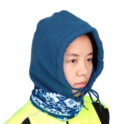 Winter Windproof Snowboarding Cycling Fleece Face Cover Outdoor Multifunctional Fleece Balaclava Hat Unisex CS Hat