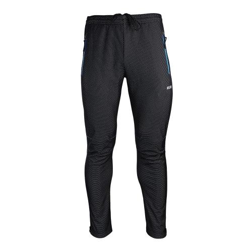 ARSUXEO inverno ciclismo pantaloni biciclette termico caldo pile antivento pantaloni lunghi elegante Pantaloni ciclismo