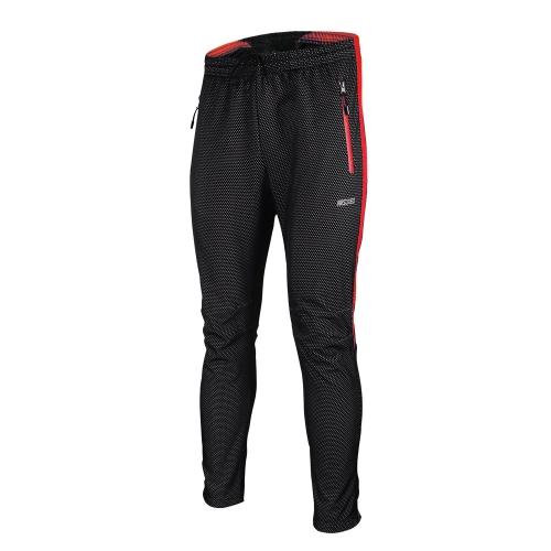 ARSUXEO 冬のサイクリング パンツ温かいフリース熱自転車長ズボン防風スタイリッシュなサイクリング パンツ