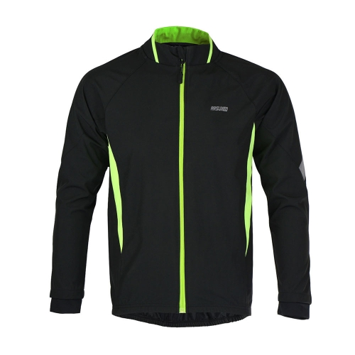 ARSUXEO Spring & Autumn Cycling Windproof Water-resistant Breathable Long Sleeve Jacket