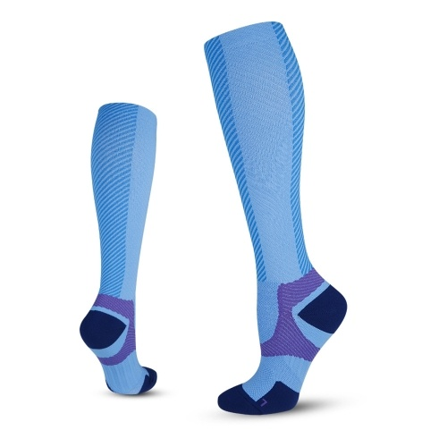 Compression Socks for Men & Women Professional Sports Socks  Athletic Stockings Outdoor Fitness Breathable Quick Dry Socks Shin Splints Calf Pressure Support For Marathon Running Cycling