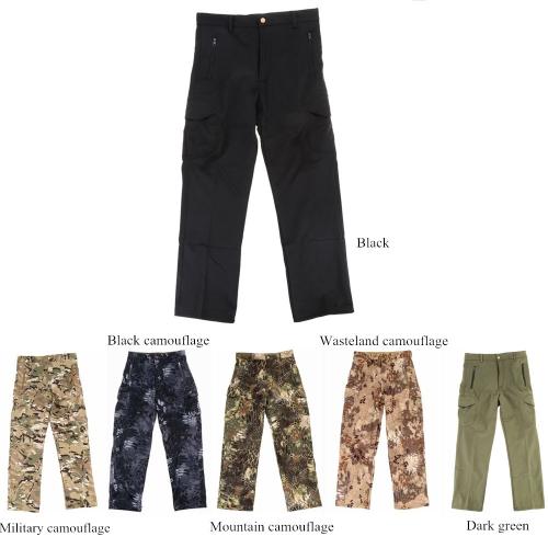 Мужчин Брюки Открытый Пешие прогулки & Поход штаны водонепроницаемый ветрозащитный тепловой борьбы открытый брюки фото