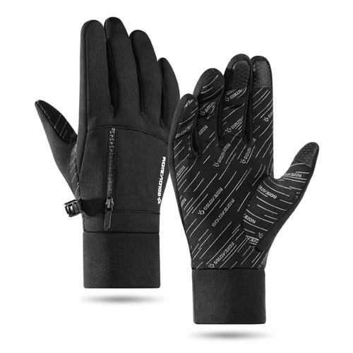 Лыжные перчатки Мужчины Женщины Зимние теплые перчатки Ветрозащитные зимние перчатки Водонепроницаемые спортивные перчатки Для мотоциклов Катание на лыжах Велоспорт Восхождение