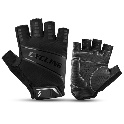 Cycling Gloves Half Finger MTB Road Bike Riding Gloves Anti-Slip Shock-Absorbing Biking Gloves for Men and Women Image