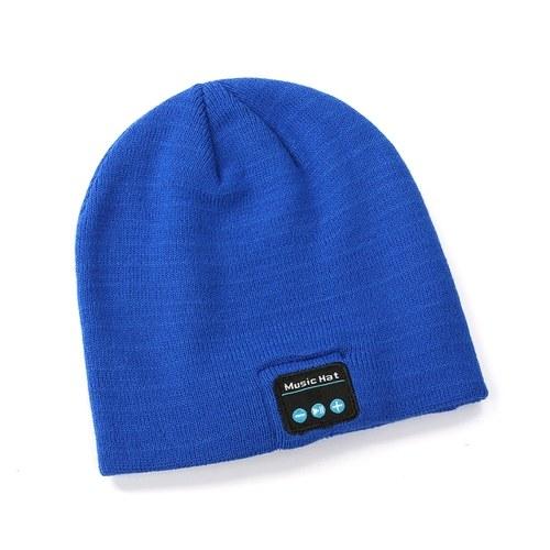 BT Music Cap Беспроводная гарнитура, шляпа, говорящая и слушающая песни, вязаная шапка, теплая шапка, теплая вязаная шапка