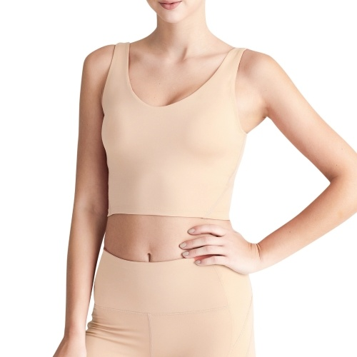 Women Sports Bra U Back U Neckline Removable Padded Vest Athletic Workout Yoga Crop Top