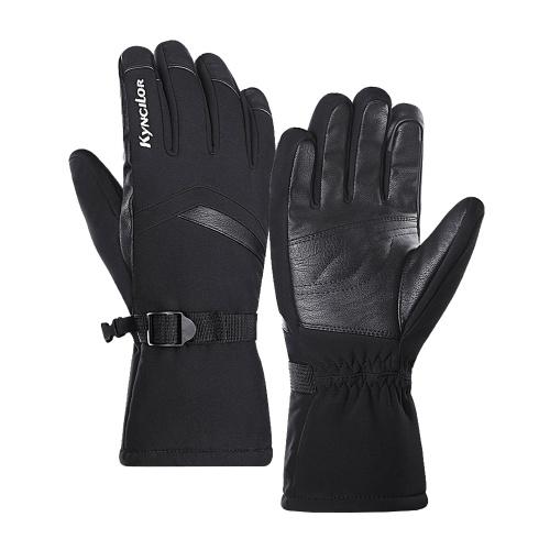 Luvas quentes de inverno Velo à prova de vento com tela sensível ao toque esportes ciclismo esqui luvas de trabalho ao ar livre