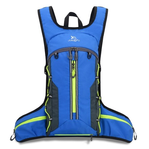 Lightweight Foldable Cycling Backpack with Helmet Cover Outdoor Sport Bike Riding Running Camping Hiking Backpack Daypack Shoulder Bag Image