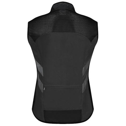 Colete de ciclismo masculino dobrável de secagem rápida e respirável reflexivo e de segurança esportiva colete de bicicleta para corrida, corrida, caminhada, caminhada