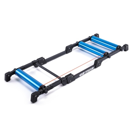 Foldable Bike Trainer Stand Indoor Stationary Cycling Roller Trainer MTB Mountain Bike Road Bicycle Exercise Station Image