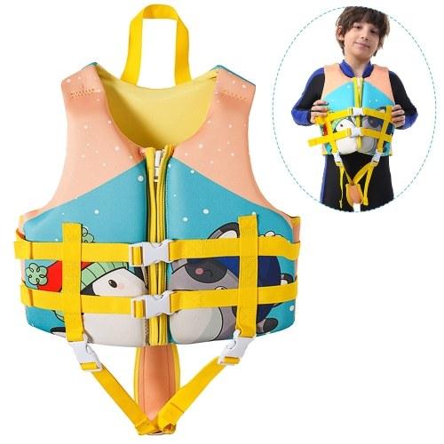 Kinder Schwimmweste Schwimmweste Schwimmtraining Flotation Badeanzug Auftriebsbadebekleidung für Jungen Mädchen