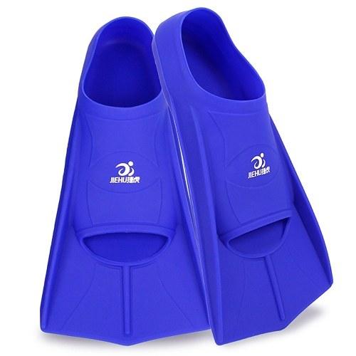 Silicone Snorkeling Fins Short Fins Comfortable Scuba Diving Flippers Light Swim Fins Snorkeling Gear Snorkeling Equipment
