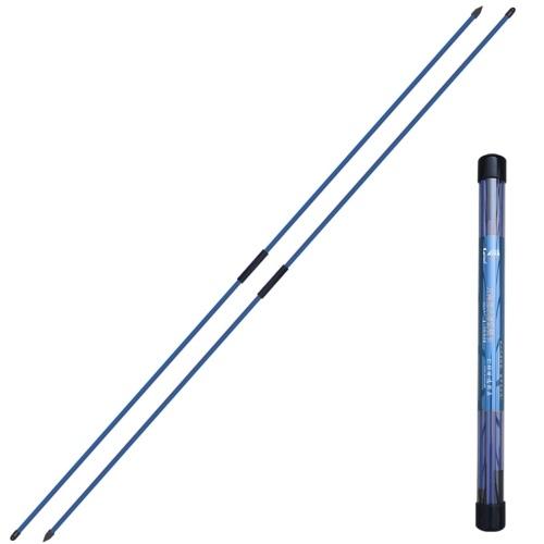 2 Stück zusammenklappbare Golfausrichtungsstäbe Golfindikator Golf Trainingsgeräte Zubehör