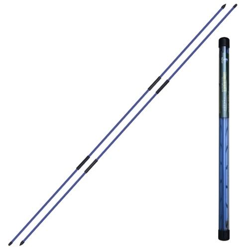 2 Stück zusammenklappbare Golfausrichtungsstöcke Golfindikator Golf Trainingsgeräte Zubehör