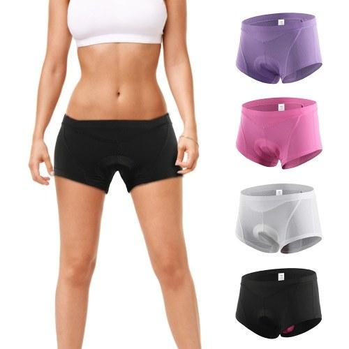 Lixada Women Bike Underwear 3D Gel Padded Bicycle Briefs MTB Cycling Biking Underwear Shorts