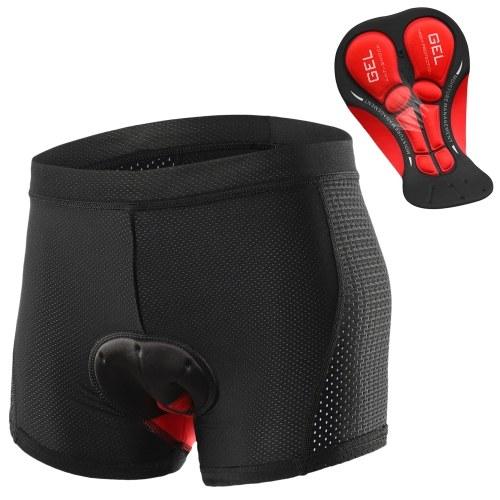 Lixada Мужские велосипедные шорты для нижнего белья с дышащей гелевой подкладкой MTB Велосипедные шорты для езды на велосипеде