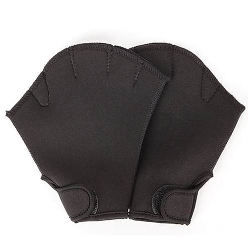 Webbed Swimming Gloves Aquatic Traning Paddles Water Resistance Diving Hand Paddles for Swimming Diving Training