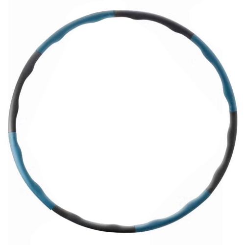 Detachable Hoop Weighted Hoop Adult 8-Section Massage Hoop Weight Loss Fitness Hoop Accessory
