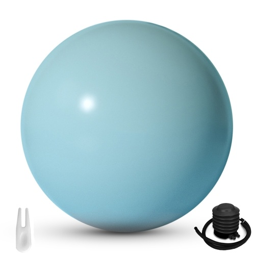 Yoga Ball Thick & Anti Burst Fitness Ball Exercise Ball Stability Ball for Balance Exercise Workout Core Training Quick Pump Included Balance Ball Desk Chair Gym Office Indoor