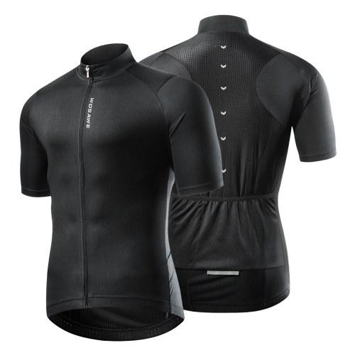 Мужская велосипедная майка с коротким рукавом MTB, быстросохнущая дышащая летняя спортивная рубашка для бега