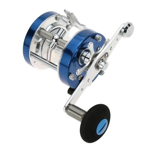5.2:1 6+1BB Full Metal Right Hand Drum Wheel Baitcasting Fishing Reel