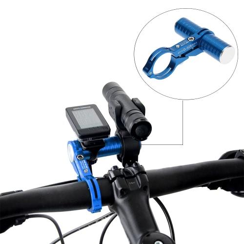 Montaje del manillar de extensión del suplemento del CNC de aleación de aluminio de la bicicleta Soporte para Cronómetro Linterna