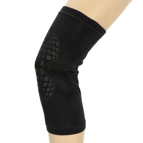 Lixada Deportes elástico de pierna apoyo de la ayuda del abrigo del cojín del protector protector de la rodilla para Running Baloncesto