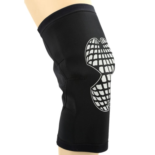 Lixada Sport elastico Leg gancio di sostegno Wrap rilievo della protezione Knee Guard per Basketball