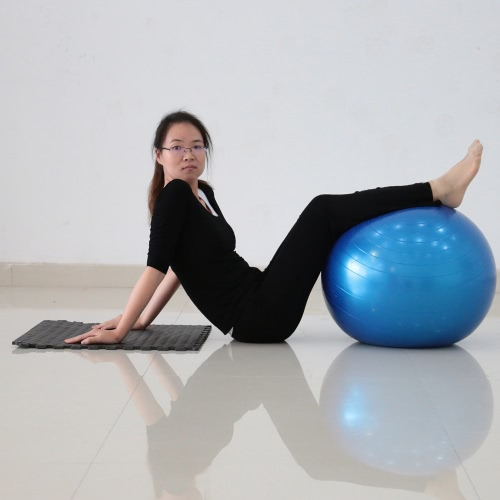 55cm Fitness Exercise Gym Fit Yoga Core Ball Multi-use Indoor Fitness Training Yoga Ball