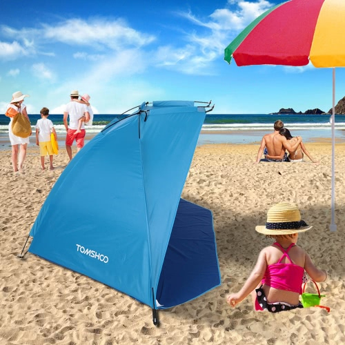 TOMSHOO Outdoor Sports Sunshade Tent for Fishing Picnic Beach Park