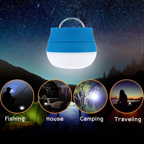 TOMSHOO LED Camping Lampe Laterne Nachtlampe mit Griff