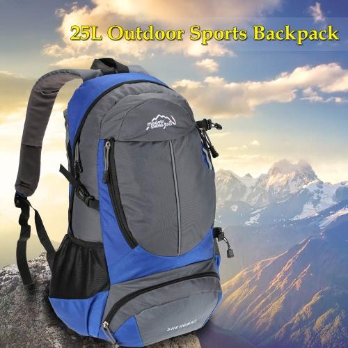 25L Sport escursione di campeggio Sports Bag zaino alpinismo arrampicata zaino per la corsa