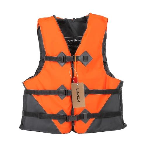 Lixada Fishing Vest Flotation Adult Survival Vest Swimming Kayaking Boating Drifting With Emergency Whistle Safety Life Jacket Fishing Vests