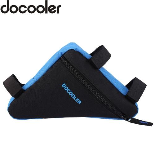 Docooler Triangolo della bicicletta della bici anteriore Gambe pagina del tubo Titolare Pouch Bag Outdoor