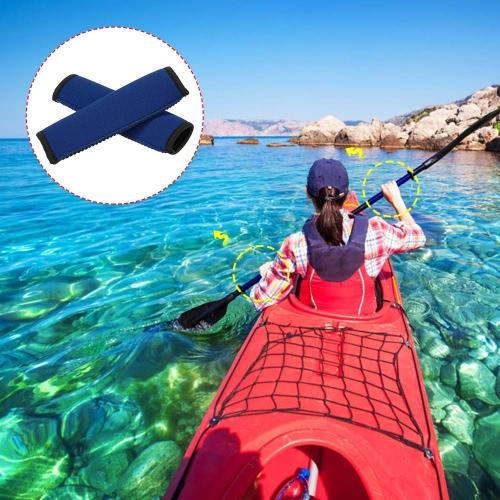 2pcs Neoprene Kayak Paddle grip morbido e antiscivolo proteggere Paddle albero prevenire vesciche & callo