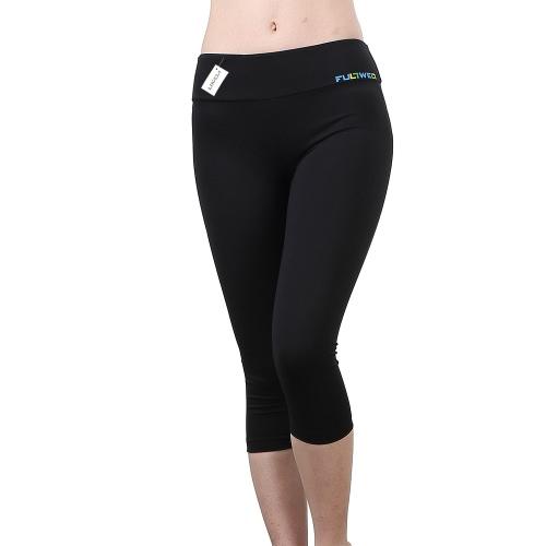 Lixada женщин Жесткие Йога брюки мягкой быстросохнущие Капри спортивные леггинсы для йога работает