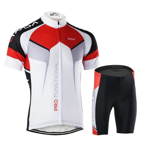 Men/'s Cycling Kit Short Sleeve Bicycle Shirt Jersey and Shorts Set various sizes