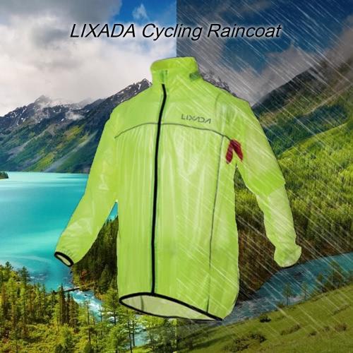 Lixada Water Resistant einen.Kreislauf.durchmachenreiten Raincoat Jacke mit guter Atmungsaktivität für Outdoor Sports