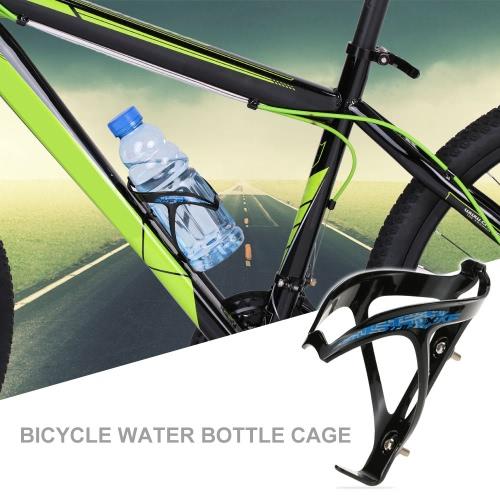 Mountain Bike della bicicletta in plastica W-forma extra leggero gabbia della bottiglia di acqua