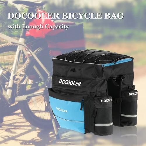 Docooler сумка велосипед цикл Велоспорт велосипед задние сумка пакет Пакет магистральные сумки Корзины