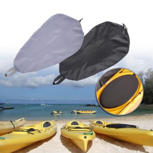 UV50 ajustable transpirable + Bloqueo de junta de la tapa kayak para cabina Protector Océano Cubierta de la carlinga 5 Tamaños opcionales