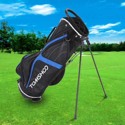 TOMSHOO Bolsa ligera de soporte de golf Bolsa de carro