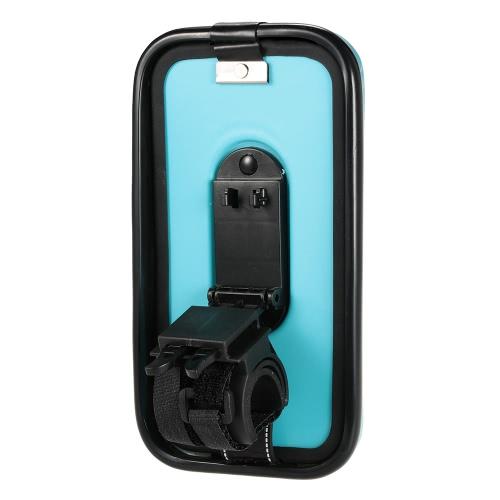 """Lixada Rainproof Motorcycle Bike Bicycle Handlebar Mount Holder Case for 5.5"""" Cell Phones"""