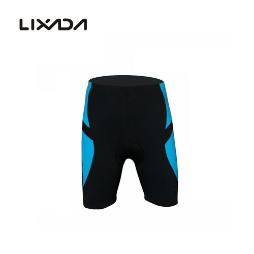 Pantaloni di riciclaggio Shorts della bicicletta del gel di silice imbottito brevi Lixada Uomo